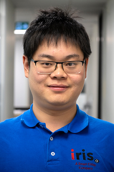 A headshot of Kevin Xia, AI scientist