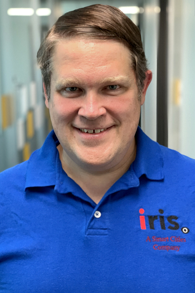 A headshot of Tom Bering, lead of Iot engineer.